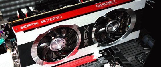XFX Radeon HD 7850 Black Edition 2GB Video Card Review