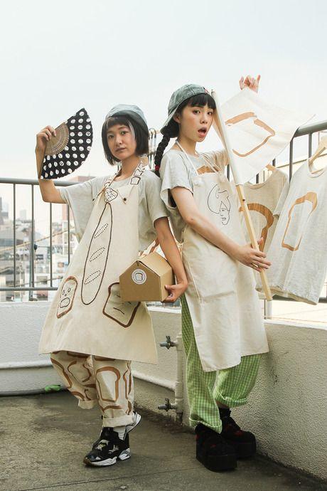 ストリートスナップ [あわつまい/るうこ] | proto(egg)product project | 原宿 | Fashionsnap.com