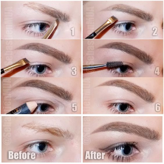 Simple pictorial to get perfect brows ! 1: Define the ...