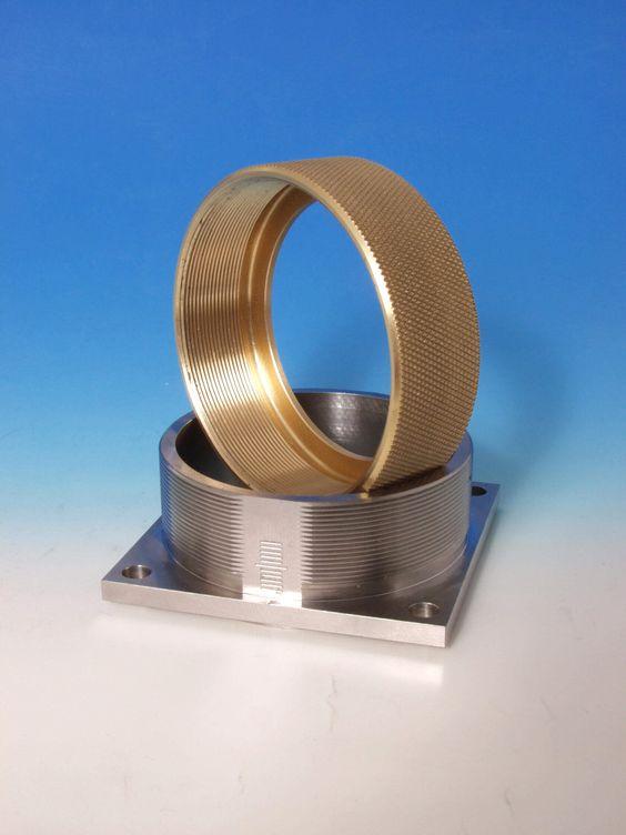 Drehteil aus Messing (c) EN-Tec GmbH #Metallverarbeitung