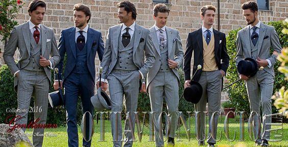 Italian morning suits Ottavio Nuccio Gala 2016 Collection