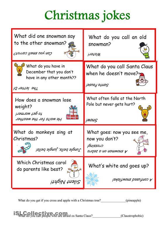 Christmas jokes: