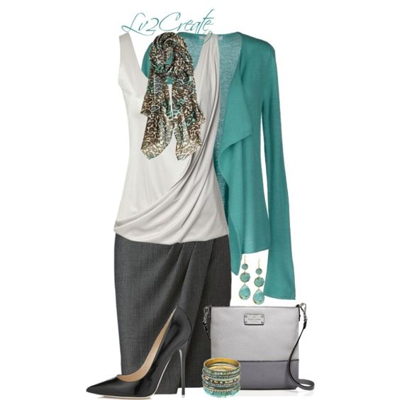 """Animal Print Scarf"" by lv2create on Polyvore"