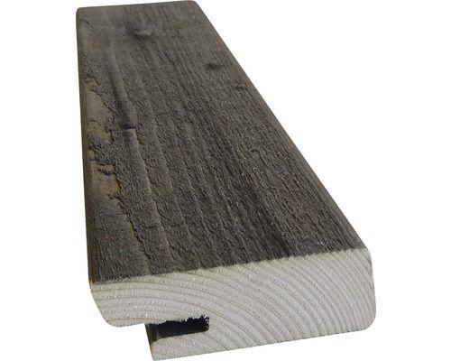 Rhombusleiste Hbfix Fichte Kdi Grau 27x68x4200 Mm 1 Pack 4 Stuck Grau Kesseldruckimpragniert Fassadenverkleidung