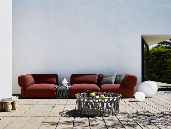 Sofa: RAVEL U2013 Collection: Bu0026B Italia Outdoor U2013 Design: Patricia Urquiola |  OUTDOOR | Pinterest | Patricia Urquiola, Outdoor Living And Deck Landscaping