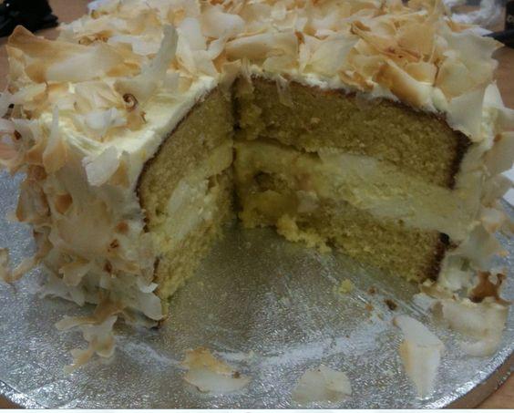 Coconut Lemon Curd Cheesecake