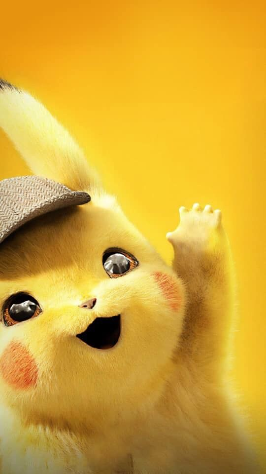 Cartoon Pikachu Wallpaper Lockscreen Yellow Iphone Cartoon