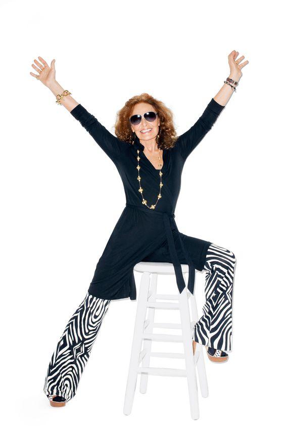 Diane von Furstenberg's Wrap Dress Turns 40 - Diane von Furstenberg Wrap Dress Anniversary - Harper's BAZAAR Magazine