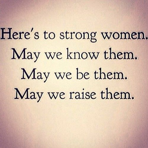 The World Is My Playground - housewifeswag: Happy International Women's Day:
