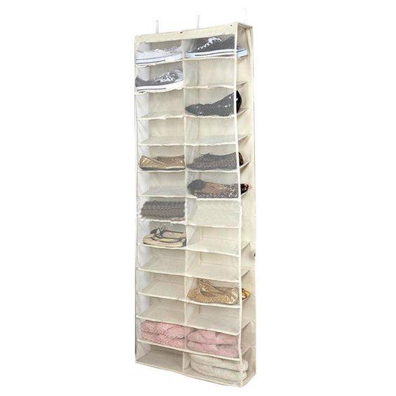 Lasperal Nonwovens Plastic Shoe Shelves Foldable Drawer