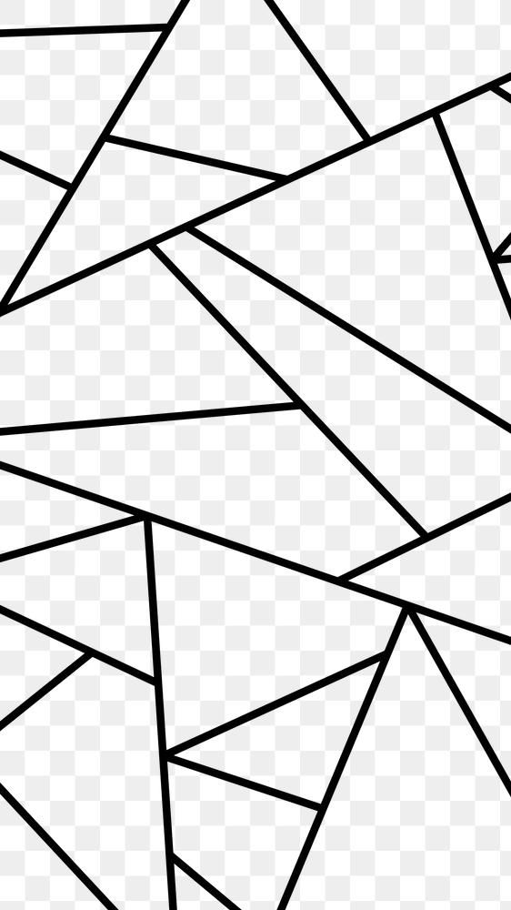Black Geometric Triangle Pattern Png Background Free Image By Rawpixel Com Sasi Triangle Pattern Geometric Triangle Geometric