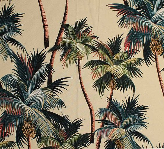<p>You might already have notice the raise of all type of palm trees, tropical leaf prints and wallpapers, from restaurant to fashion collection and even food! Astrong trend that's been here for a while now and probably a little more longer. In this postwe gather a wonderful vintage collection of Hawaiian tropical leaf prints including […]</p>