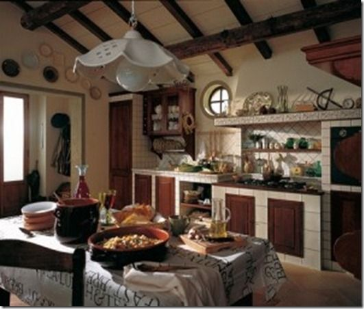 Modern traditional traditional and modern on pinterest - Decoracion de cocinas rusticas ...