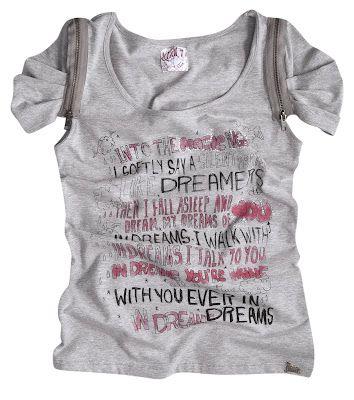 Camiseta também é fashion