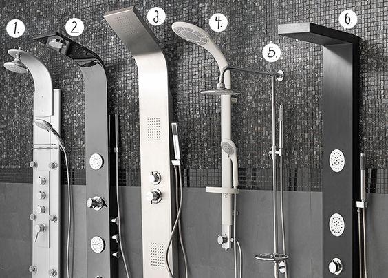 Un hidromasaje las columnas de ducha son f ciles de instalar ya que no requieren de grandes - Columnas de ducha ...