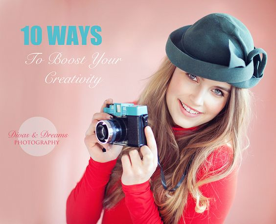 10 ways to boost your creativity by www.divasanddreams.com, via Flickr