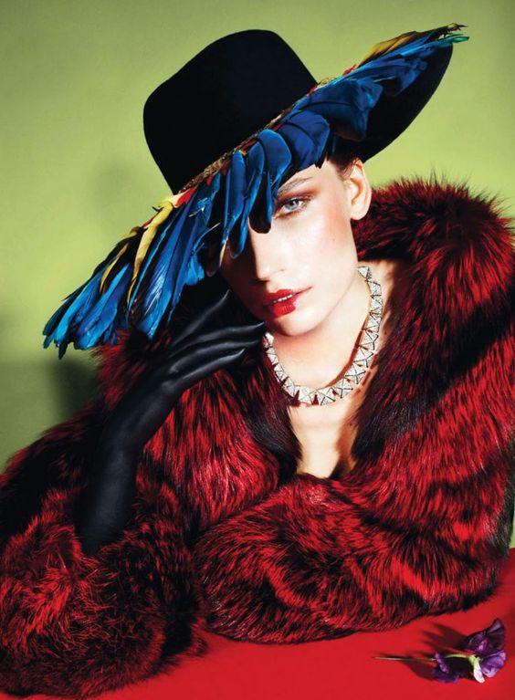 Harper's Bazaar noviembre 2012..