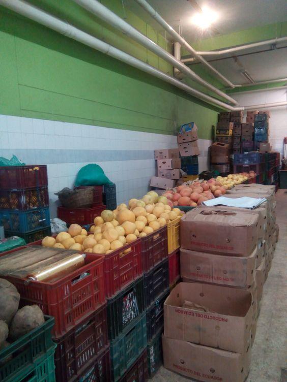 Bodega de almacenamiento de nuestros productos.