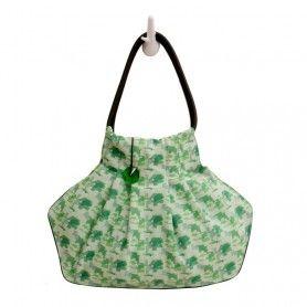 Oblique Green Bag