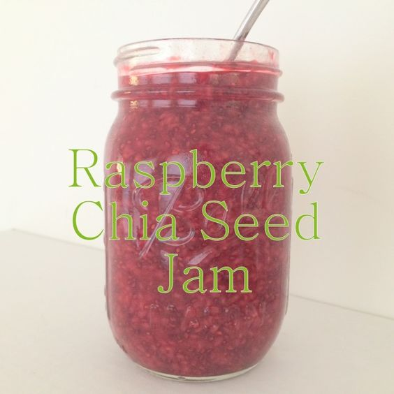 How do you make healthier jam? Reduce the sugar and add chia seeds! This simple jam takes just 10-15 minutes to prepare and will last for a week or 2 in your fridge. It's a great way to get healthy chia seeds and vitamin-rich berries into your kids while also reducing their sugar intake.