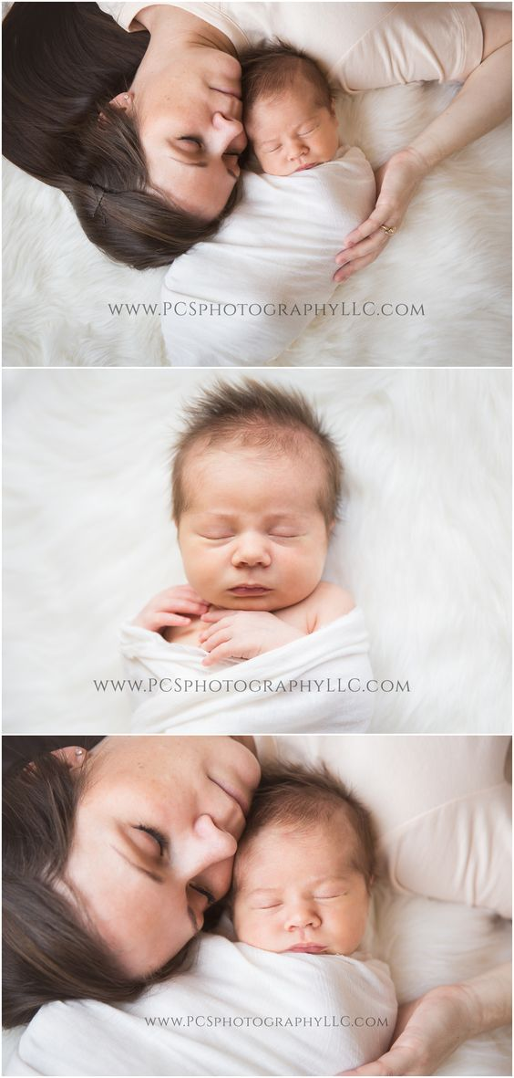 Natural Light Newborn Photography | Newborn Posing | Newborn Inspiration | Baby Photography | Simple Mother and Baby