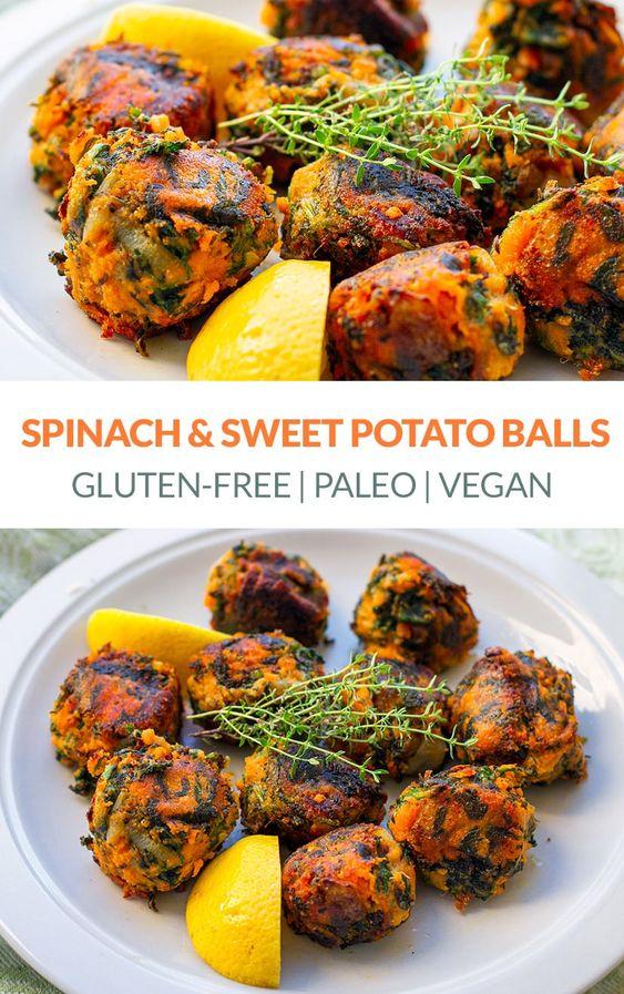 Spinach & Sweet Potato Balls