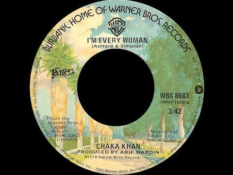 Chaka Khan I M Every Woman 1979 Disco Purrfection Version Youtube Chaka Khan Dance Music Music Radio
