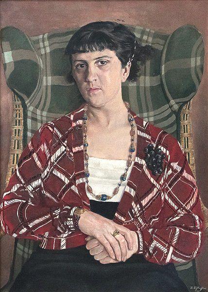 Rudolf Schlichter: Eugenie Perrot,1934