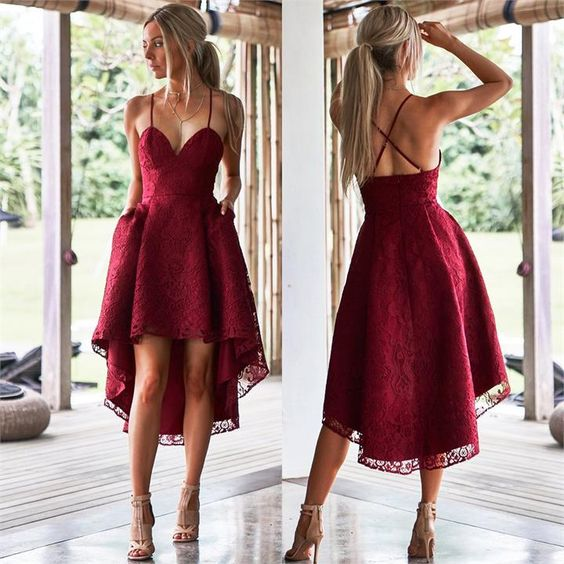 Not wild about the high low look but the style is perfect