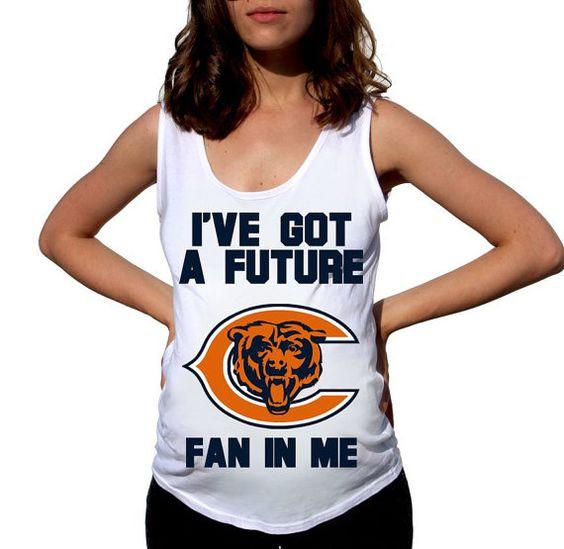 Chicago Bears Baby Chicago Bears Shirt Boy Baby Girl by FreshBreak