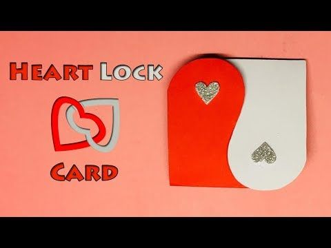 Handmade Heart Card Love Greeting Card Card Making Ideas