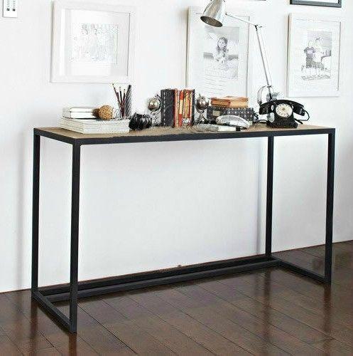 pas cher european american loft antique tables de chevet en bois de table de la console en fer. Black Bedroom Furniture Sets. Home Design Ideas