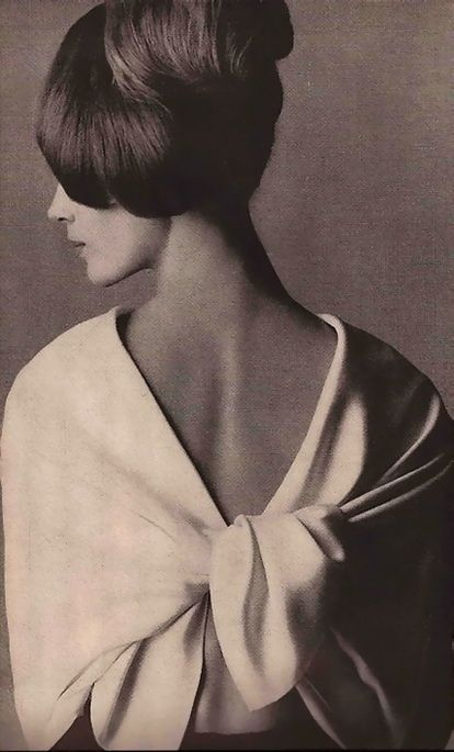 Photo by Irving Penn, 9/1963, Pierre Cardin, Vogue.