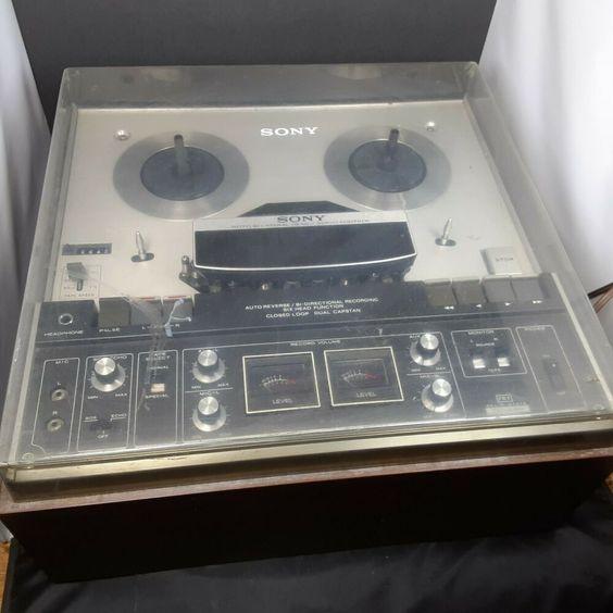 Vintage Sony Tc 440 Roto Bilateral Reel To Reel 6 Head Tape