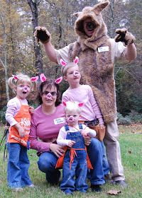 from Chapel Hill to Chickenville: The Three Little Pigs - Family Halloween Costume