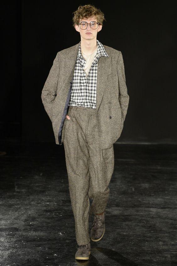 E. Tautz Fall 2017 Menswear collection
