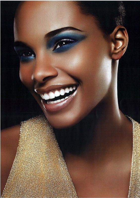 Black Women Makeup Tips For Dark Skin - Copper Eyes & Nude Lip Makeup, You are going to LOVE this exotically beautiful makeup job from Melissa! She uses her gorgeous brown skin as the palette to show us all how to get an amazing wedding and prom makeup style. She makes this makeup tutorial very easy to follow and she gives you all the exact colors of makeup for black skin and other go-to products she uses. Absolutely gorgeous!