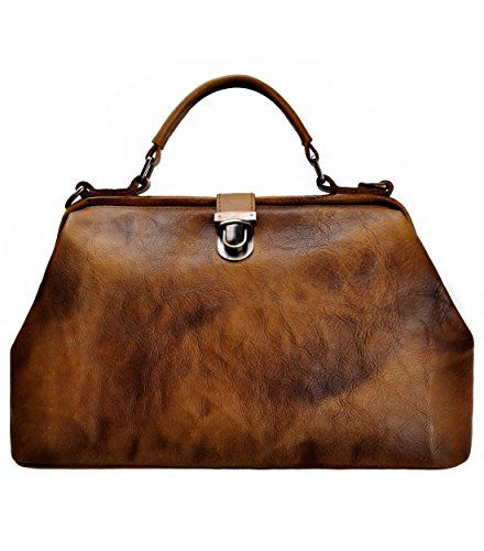 Womens leather doctor bag
