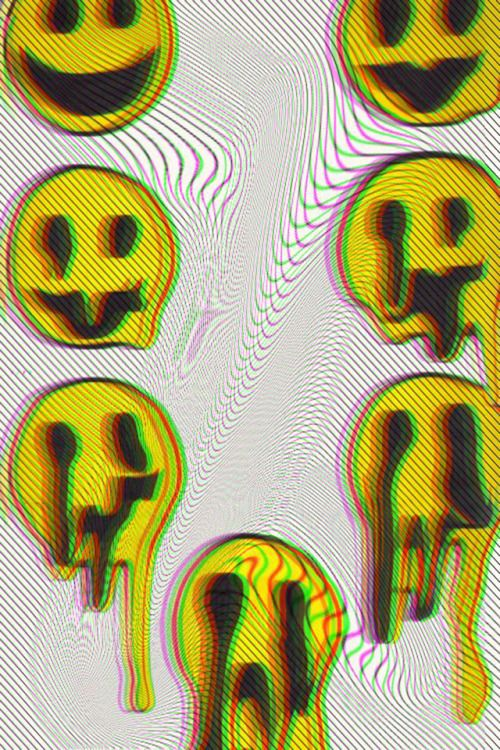 Trippy Grunge Tumblr  trippy iphone wallpaper  For my new room  Pinterest  Cream, iPhone