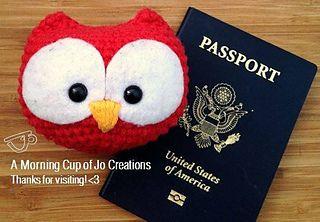 Travel Owl Plush