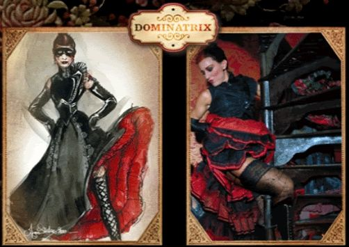 """Dominatrix """"Moulin Rouge"""""""