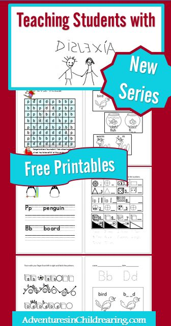A New Series on Teaching Students with Dyslexia & FREE Printables to get you started! #dyslexia #homeschool