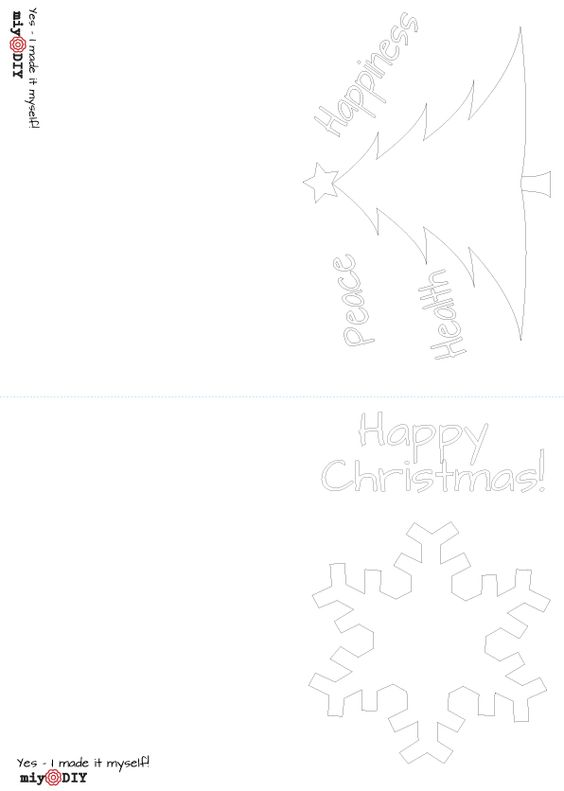 tree-&-snowflake-christmas-cards-a6