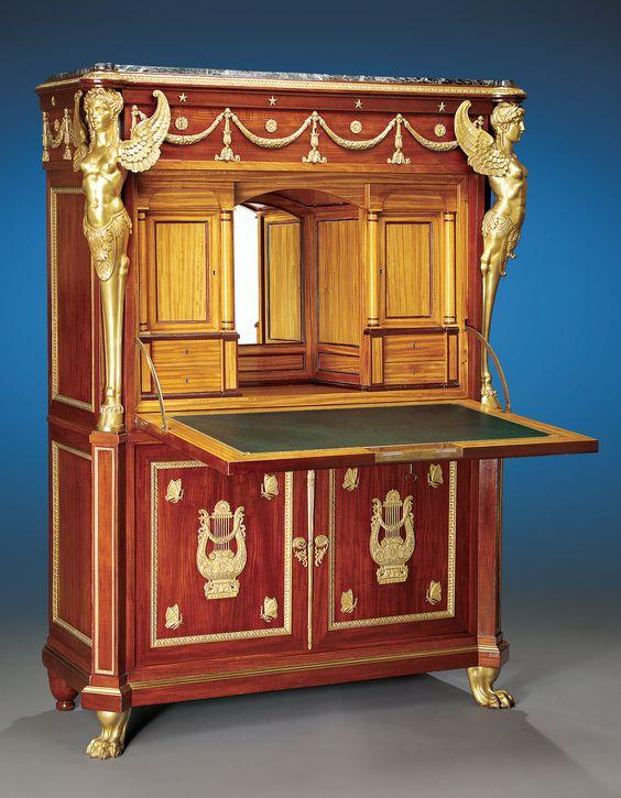 Egyptian king farouk empire bedroom suite antiques for Bedroom furniture egypt