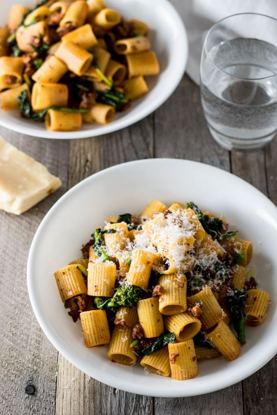 explore sausage broccoli broccoli rabe and more rigatoni sausages