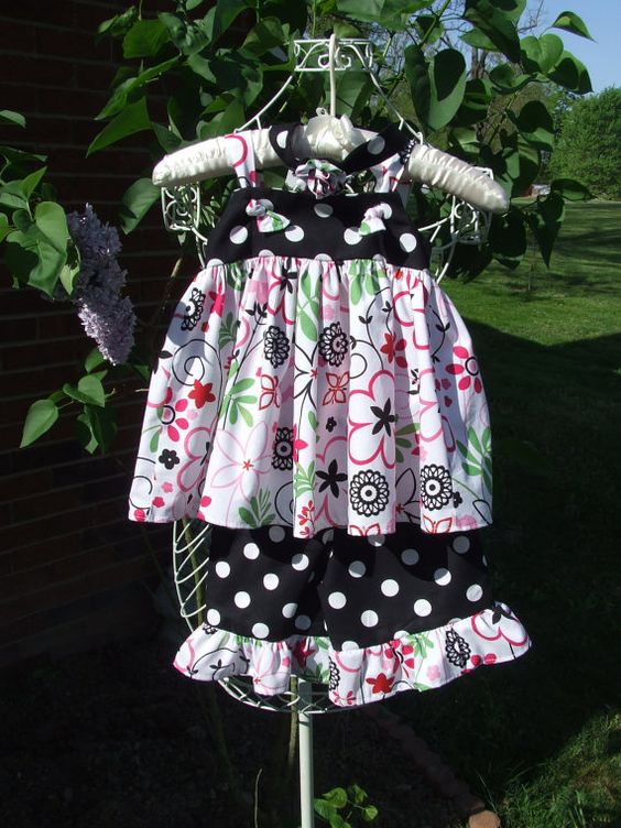 Little Girls Summer Top and Bloomers by homespunexpressions, $30.00