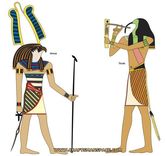 Thot es el dios egipcio más inteligente