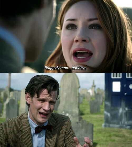 It took me a while to get into Amy and eleven .. but this was a sad moment. :(