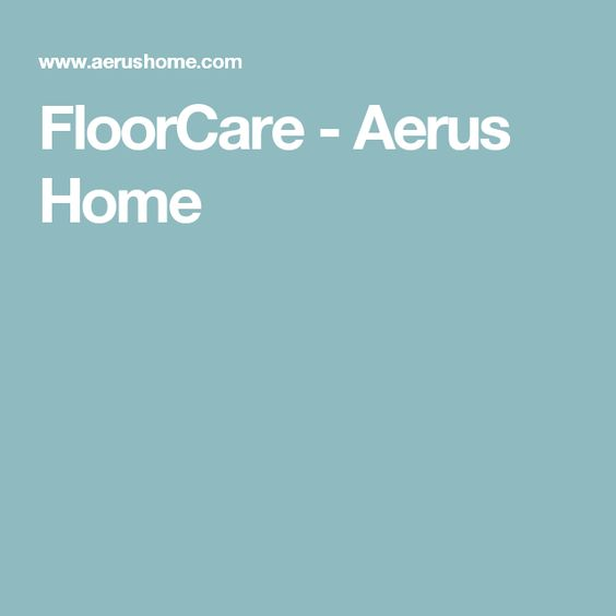 FloorCare - Aerus Home