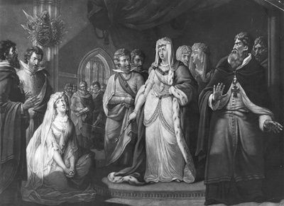 Empress Matilda Hears Plea of Matilda of Boulogne
